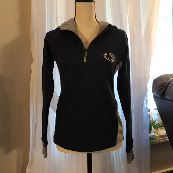 Champion Tops - Penn State pullover with hood . Champion XS
